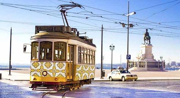 Lissabon Altstadt De